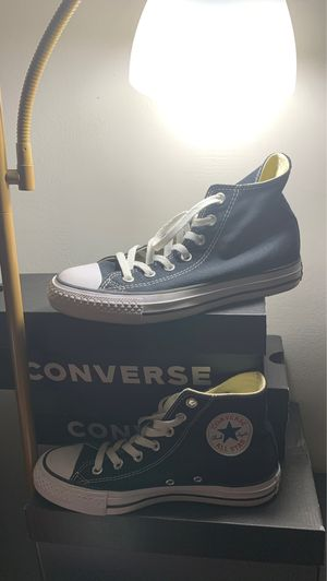 Black converse size 7 for Sale in Greensboro, NC