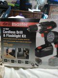 Drill Master 18V cordless drill and flashlight for Sale in Bay Saint Louis, MS