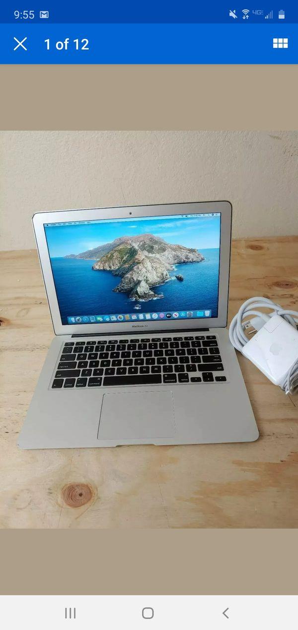 2015 Apple Macbook Air 13 Intel i5 1.6GHz,8GB,256GB SSD,MacOS Catalina
