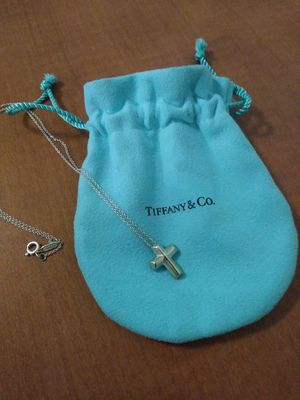 Tiffany cross necklace for Sale in Bethesda, MD