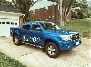 $1,OOO Urgent SELLING 2007 Toyota Tacoma SR5 Transmision automatic Like a new The A/C works for Sale in Anchorage, AK
