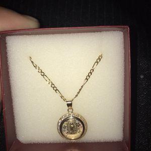 Cadena 14k Medalla 10k for Sale in Phoenix, AZ