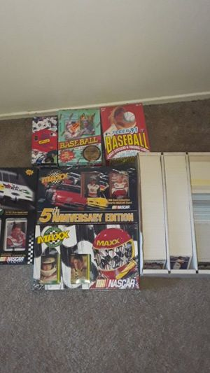 Baseball and nascar cards for Sale in Hayward, CA