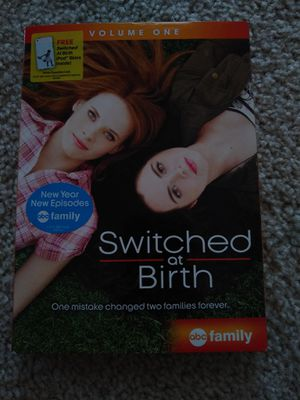 Switched at Birth, Vol. 1 (DVD, 2011, 2-Disc Set). Condition is Like New. for Sale in Garner, NC