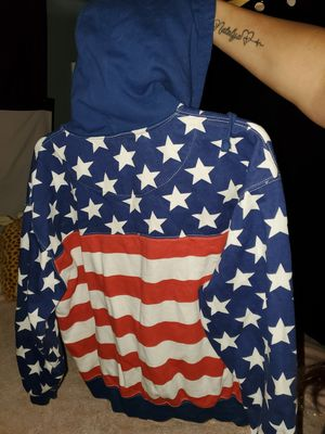 Unisex zip up all American jacket for Sale in Medina, OH
