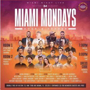 MIAMI MONDAY EVENT 11/30/20 for Sale in Miami, FL