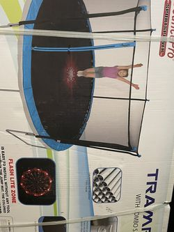 NEW 14 Foot Trampoline w/ Enclosure and Game for Sale in Portland,  OR