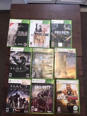 Xbox 360 games used for Sale in Lansdale, PA