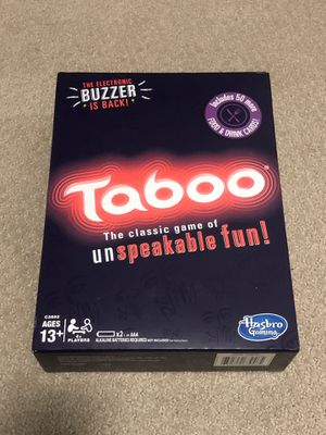 BRAND NEW Taboo Board Game for Sale in Los Angeles, CA