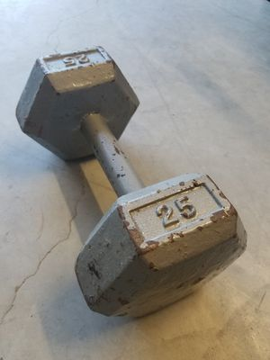 Dumbbell (single) 25lb - Get PUMPED for Sale in Mansfield, TX