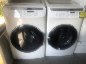Samsung Flex Washer And Gas Dryer Set for Sale in Orange, CA