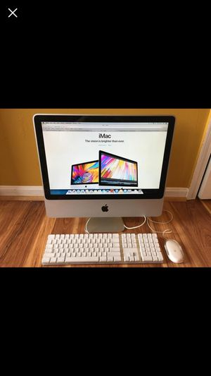 20 INCH IMAC 2.26 GHZ INTEL 250 GB HARDDRIVE EL CAPTAIN OS WITH MICROSOFT OFFICE INSTALLED for Sale in Louisville, KY