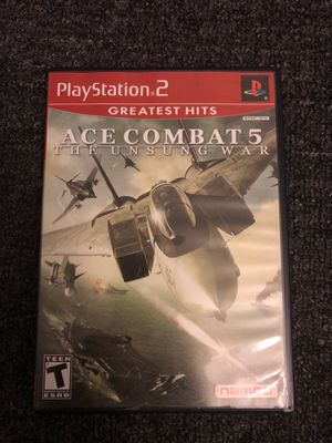 Ave Combat 5 the unsung war (PS2) for Sale in Opa-locka, FL