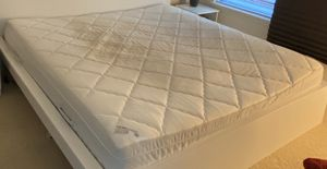 King bed and king mattress from IKEA for Sale in Alexandria, VA