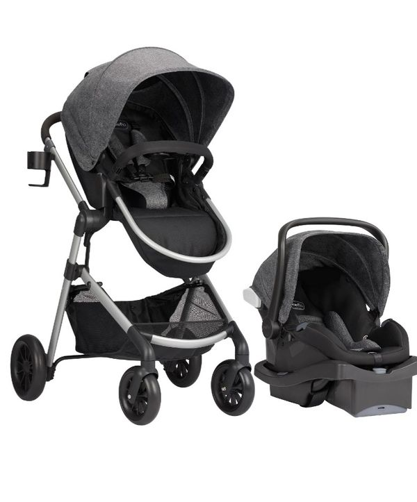 Carset and stroller