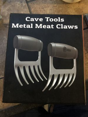Cave Tools Metal Meat Claws Grill Grilling Cooking Food Steaks Thanksgiving for Sale in Tampa, FL