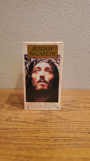 Jesus of Nazareth 3 VHS set for Sale in Torrance, CA
