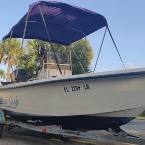 Center console 17 ft stott craft 90hp outboard, Ready For Water for Sale in Fort Lauderdale, FL