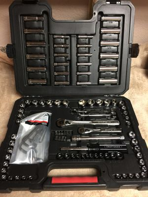 108 Piece Mechanics Tool Set BRAND NEW in a sturdy case for Sale in Port Richey, FL