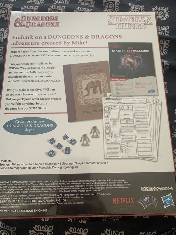 Stranger Things Dungeons and Dragons Board Game
