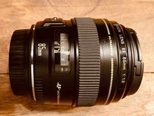 Canon EF 85mm 1.8 - New for Sale in Washington, DC