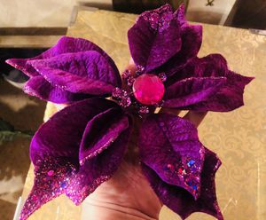 25 Purple Poinsettia Clips for Sale in Phoenix, AZ