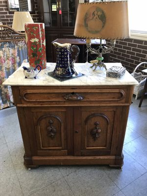 Marble Top Victorian Cabinet for Sale in Fort Washington, MD