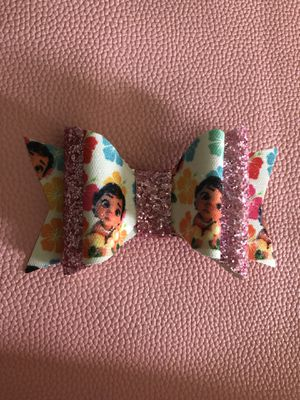 Baby Moana Hair Bow $4 large bow for Sale in Anaheim, CA