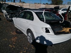 Selling Parts for a White 2009 Mercedes C Class STK#1426 for Sale in Detroit, MI