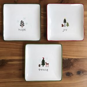 Tag Holiday Ornaments Christmas Appetizer Plates~Set of 3 for Sale in Henderson, NV
