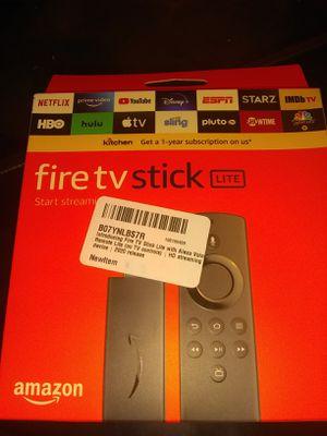 Fire tv stick (Lite) for Sale in Baltimore, MD