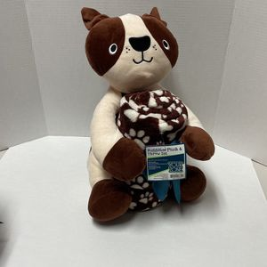 Huggable Plush & Throw Dog Set NEW for Sale in Fort Lauderdale, FL