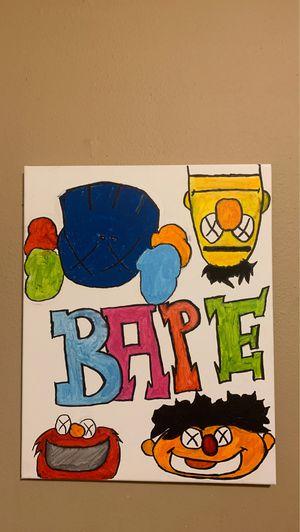 Bape painting for Sale in Atlanta, GA