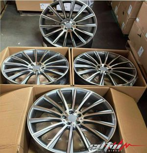 "20"" staggered mercedes wheels new in boxes 5 lug 5x112 for Sale in Pembroke Pines, FL"