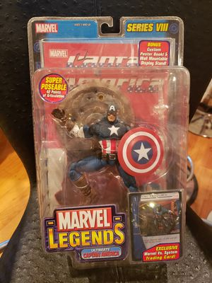 TOY BIZ MARVEL LEGENDS CAPTAIN AMERICA for Sale in Chicago, IL