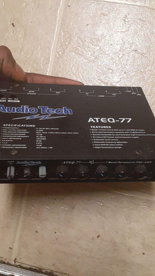 1 (super giantpower Turbo 175watts x 4channel Amp 380) ..2(Audio tech ATEQ-77)..3(RENEGADE REN5505 2CHANNEL AMP 550WATTS)