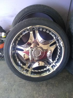 24'inch MARGi Rims & Tiers for Sale in Ceres, CA