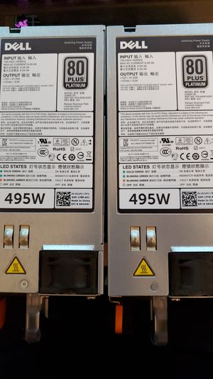 Dell server switching power supplys for Sale in Federal Way, WA