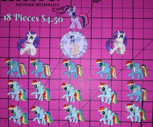 18 Piece My Little Pony Resin Lot for Sale in Youngtown, AZ