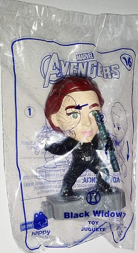 Avengers Black Widow #16 McDonalds Collectible Toys