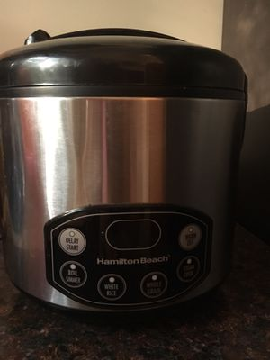 10 cups rice cooker for Sale in Germantown, MD
