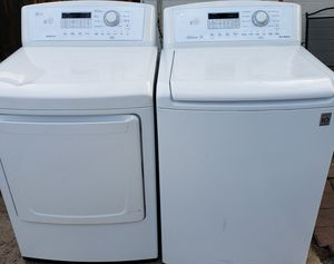 SET LG.. WASHER AND DRYER ELECTRIC for Sale in Phoenix, AZ