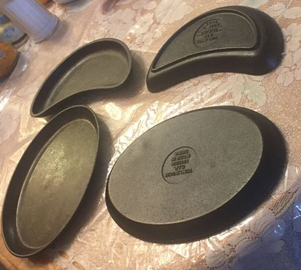 Cast Iron plate all 4 plates for 15