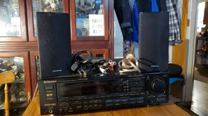 PIONEER W/ONKYO SPEAKERS for Sale in Vancouver, WA