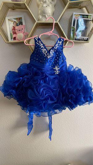 Royal blue flower girl dress for Sale in Orlando, FL