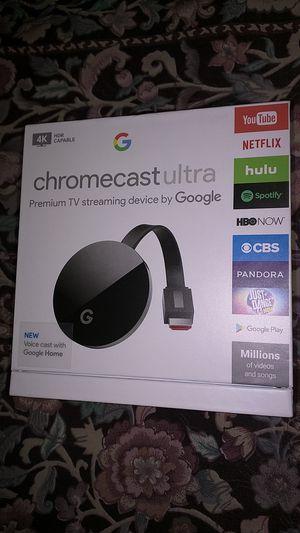 **BRAND NEW SEALED** Google Chromecast Ultra 4K Digital Media Steamer for Sale in Phoenix, AZ