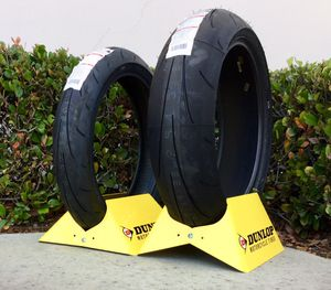 Dunlop Q3+ Motorcycle Tire - In stock at 8 Ball Motorcycle Tires - Installed while you wait! for Sale in San Diego, CA