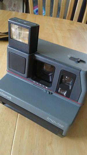 Vintage Collectible Polaroid Impulse 600 Plus Film Instant Picture Camera UK Made for Sale in Miami, FL