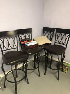 4 Tall chairs for Sale in Fremont, CA