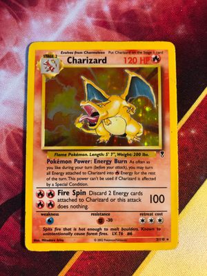 Charizard 3/110 Holo Foil Holographic Rare Pokemon Card TCG Legendary Collection for Sale in Anaheim, CA